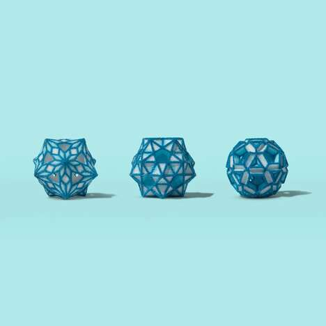 Edible 3D-Printed Ornaments