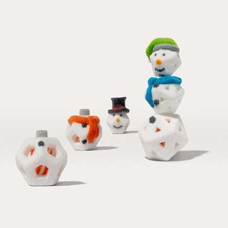 3D-Printed Snowman Kits