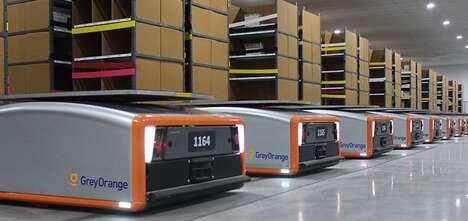 Autonomous E-Commerce Robots