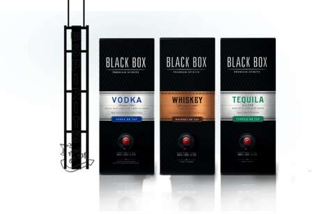 Boxed Spirit Packaging