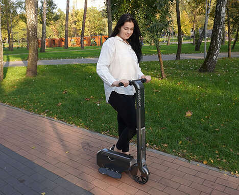 Backpack-Friendly Electric Scooters