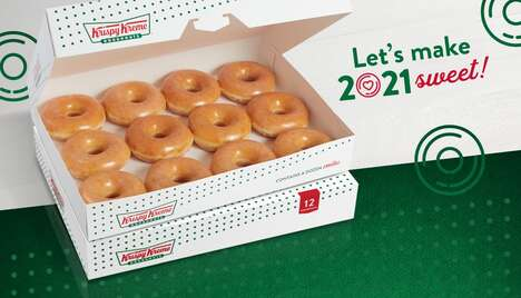 New Year's Donut Deals