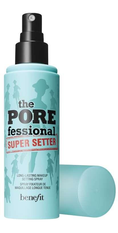 Pore-Minimizing Setting Sprays