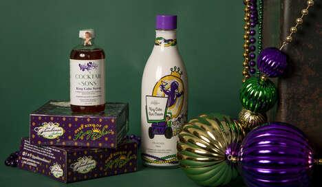 King Cake-Inspired Liqueurs