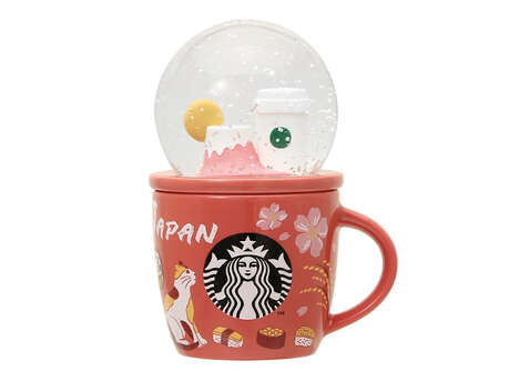 Novelty Snowglobe Mugs