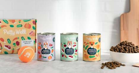 Customized Dog Food Cans