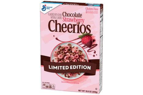 Chocolate Strawberry Cereals