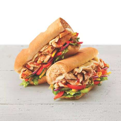 Meatless Chicken Subs