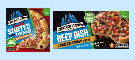 Deep-Dish Cheeseburger Pizzas