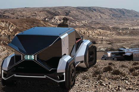 Nomadic Off-Grid Exploration Vehicles
