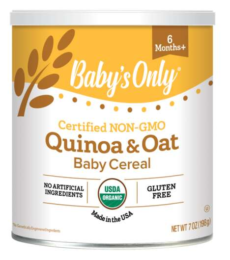 Plant-Based Baby Cereals