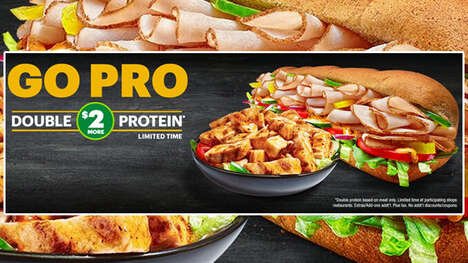 Double-Protein QSR Promotions