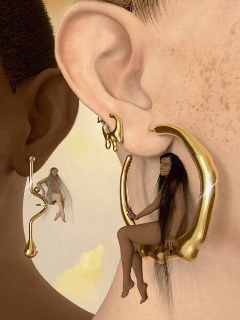 Inorganic Futuristic Jewelry