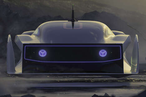 Mythological Alien Exploration Cars