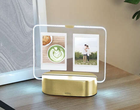 Illuminated Instant Picture Frames