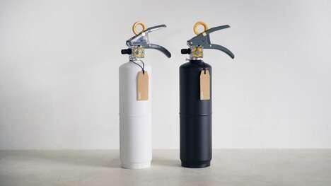 Modern Monochromatic Fire Extinguishers