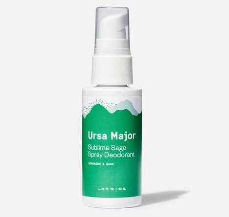Herbal Spray Deodorants