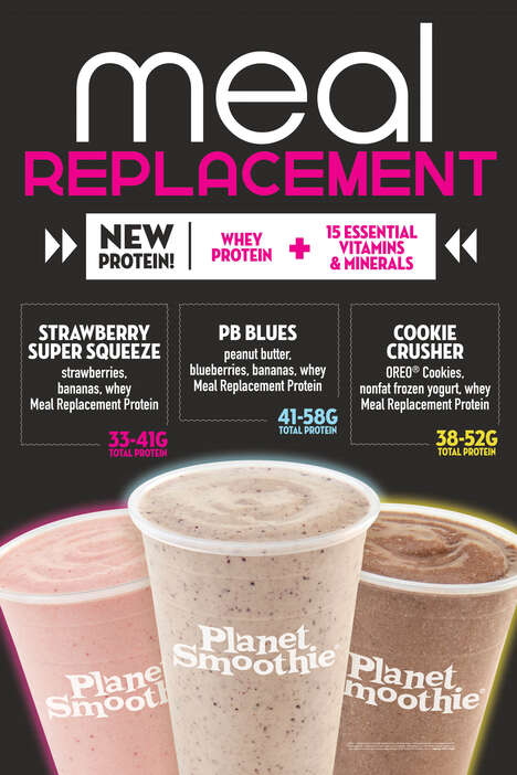 Meal Replacement Smoothies