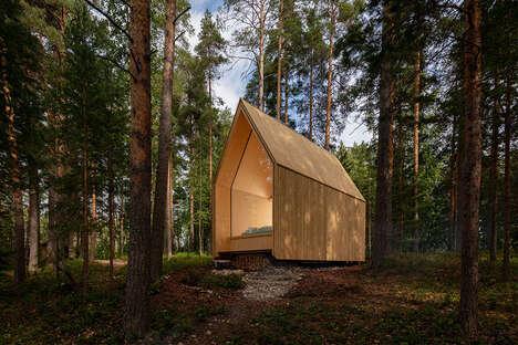 Cross-Laminated Timber Cabins