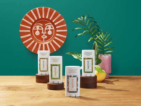 Fragrant Co-Branded Deodorants