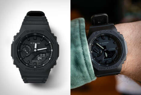Octagonal 80s-Inspired Timepieces