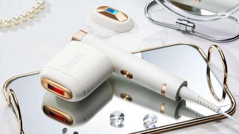 Skin-Rejuvenating Hair Removal Devices