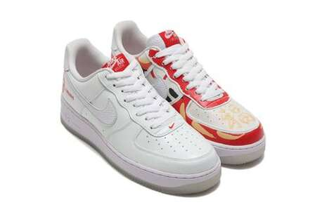 Japanese Artistry Accented Sneakers