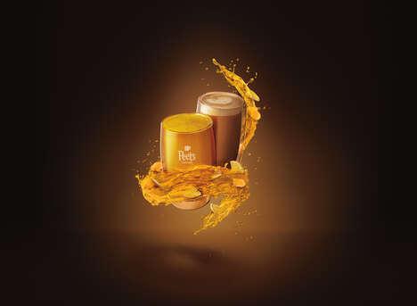 Restorative Golden Beverages
