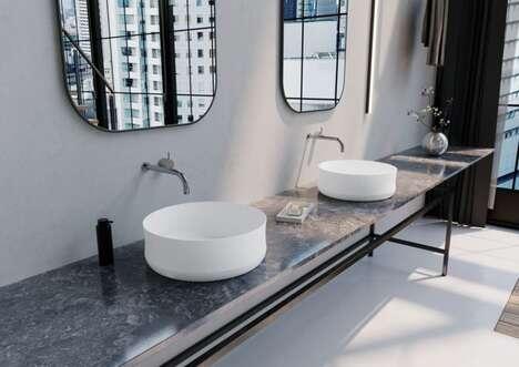 Vase-Inspired Washbasins