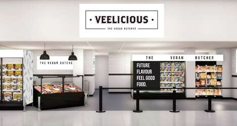 Meat-Free Butcher Counters