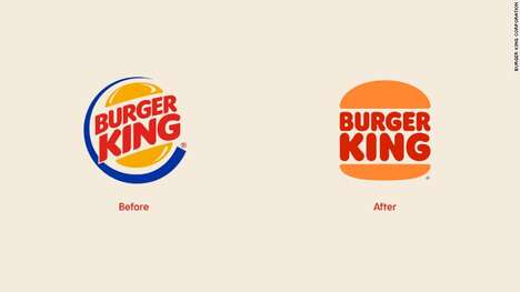 Updated QSR Burger Logos