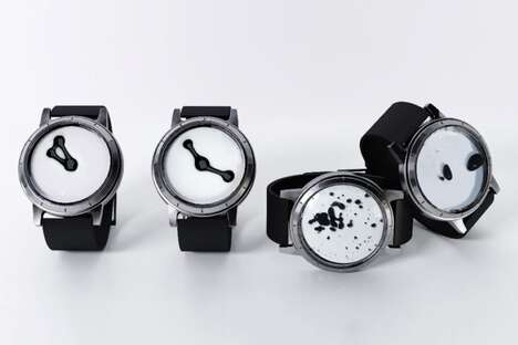 Magical Magnetic Ink Timepieces