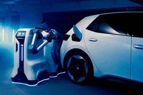 Mobile EV Charing Robots