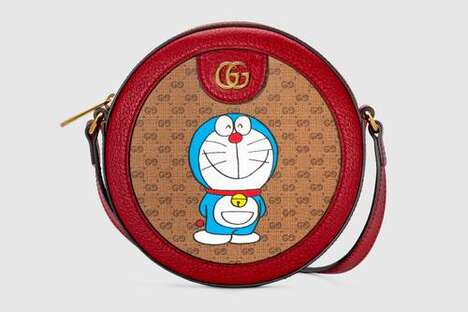 Cartoon-Themed Luxe Bags