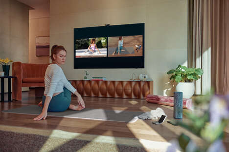 TV-Integrated Workout Assistants