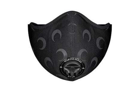 Moon Emblem Face Masks