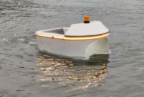 Garbage-Collecting Aquatic Robots