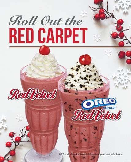 Revived Red Velvet Milkshakes