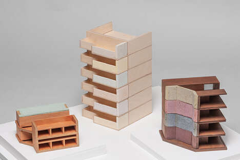 Architecture-Inspired Desktop Accessories