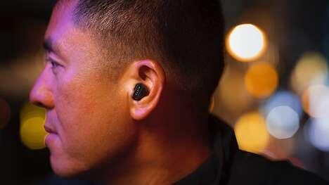 Miniature Wireless Audio Headphones
