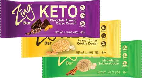 Nutritionist-Developed Keto Bars