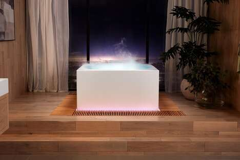 Soothing Multi-Sensory Bathtubs