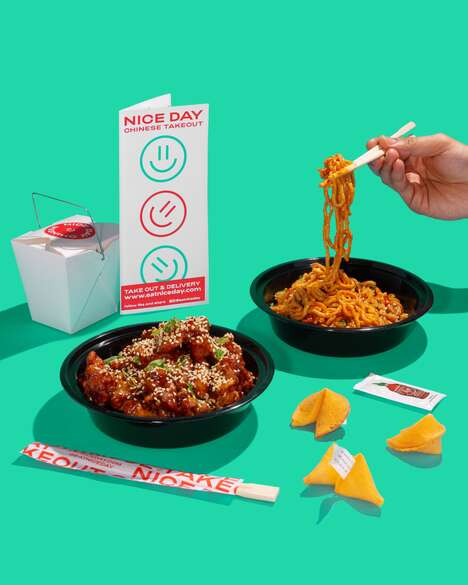 Modernized Chinese Takeout Branding