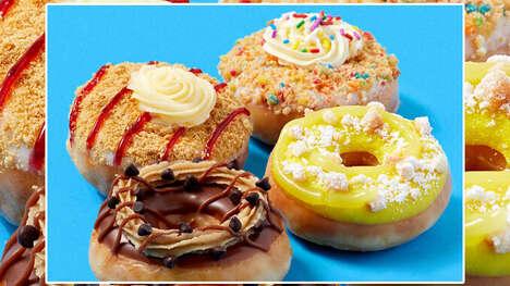 Dessert-Themed Mini Doughnuts