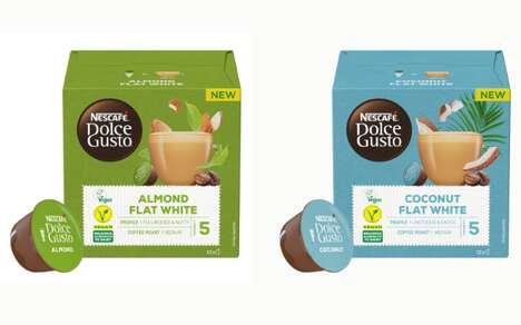 Vegan-Friendly Coffee Pods