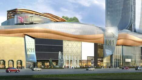 Luxury Chinese Mall Complexes
