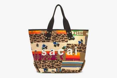 Versatile Patchwork Tote Bags