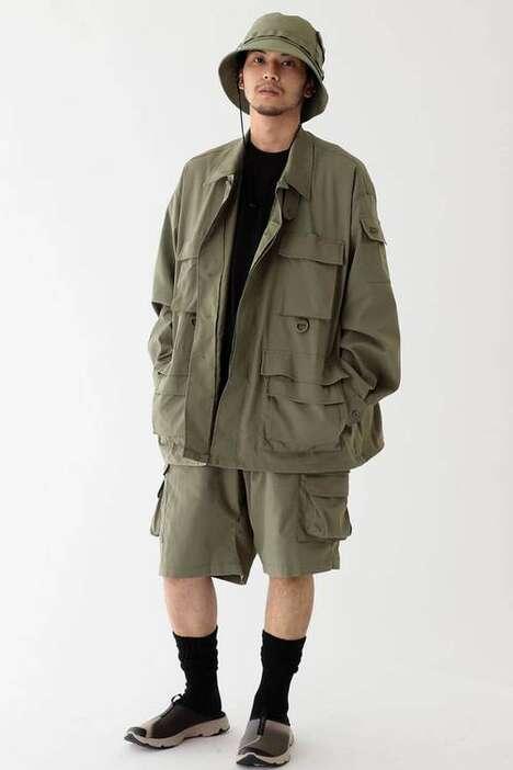 Exclusive Militaristic Streetwear