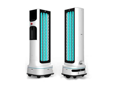 Autonomous Disinfecting Robots