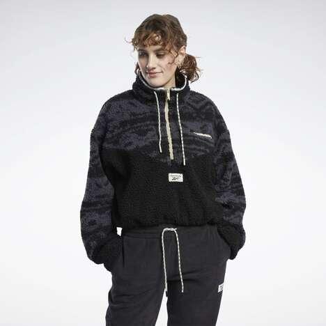 Vintage-Inspired Fleece Jacket